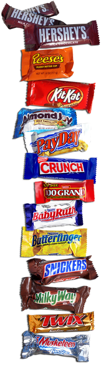 Snack Size, Fun Size Candy - Global Sweet Treats